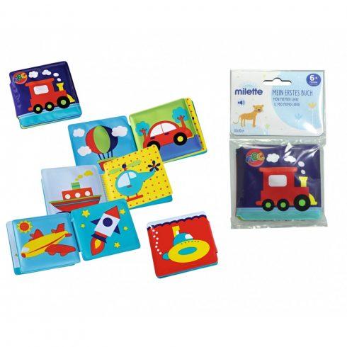 Simba Toys ABC - Hangot kiadó, lapozhatós könyv babáknak (104011641)