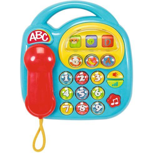 Simba Toys ABC - Hangot kiadó telefon babáknak - kék (104012412)