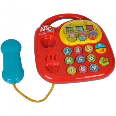 Simba Toys ABC - Hangot kiadó telefon babáknak - piros (104012412)