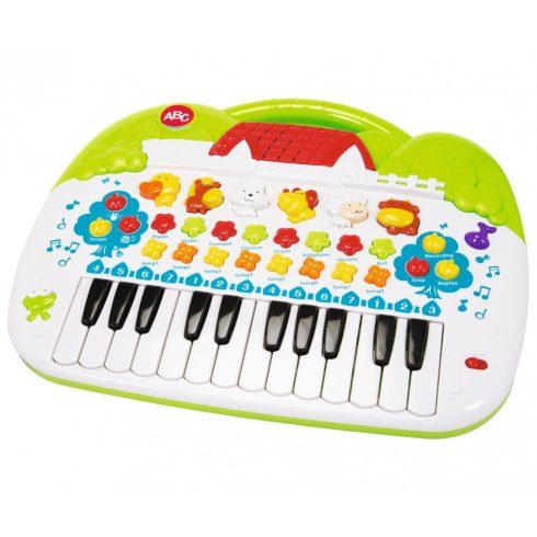 Simba Toys ABC - Állathangos zongora kicsiknek (104018188)
