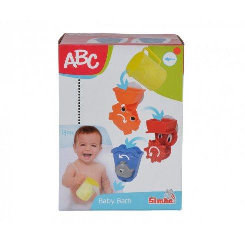 Simba Toys ABC - Állatos fürdőjáték babáknak (104019578)