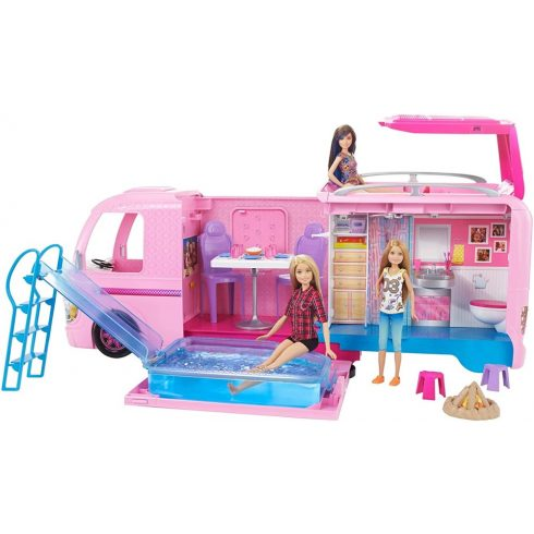 Mattel Barbie FBR34 Álom lakóautó