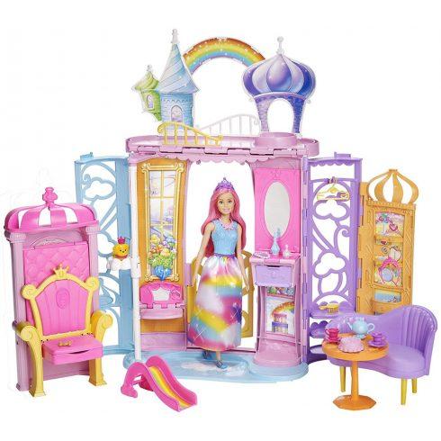 Mattel Barbie FRB15 Dreamtopia kastély babával
