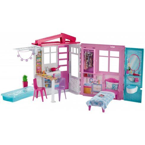 Mattel Barbie FXG54 Összecsukható tengerparti ház
