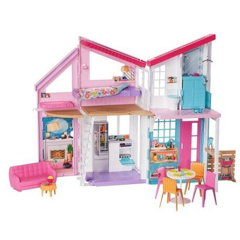Mattel Barbie FXG57 Malibu összecsukható tengerparti álomház (csomgolássérült)