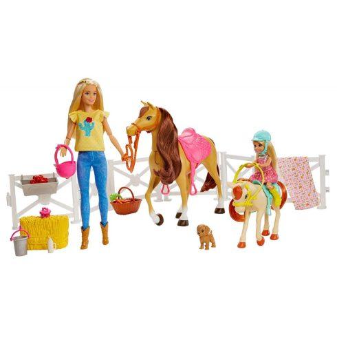Mattel Barbie FXH15 Lovarda játékszett