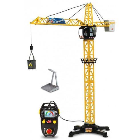 Dickie Toys Construction - Távirányítós RC óriás daru 100cm (203462411)