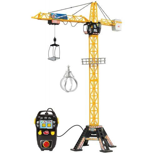 Dickie Toys Construction - Távirányítós RC mega óriás daru 120cm (203462412)