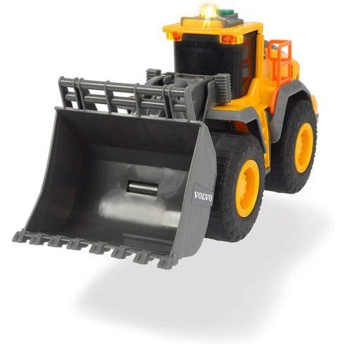 Dickie Toys Construction - Volvo homlokrakodó fénnyel és hanggal 23cm (203723003)