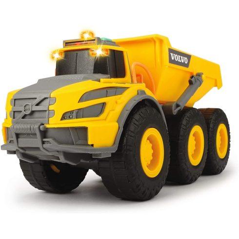 Dickie Toys Construction - Volvo csuklós dömper fénnyel és hanggal 23cm (203723004)