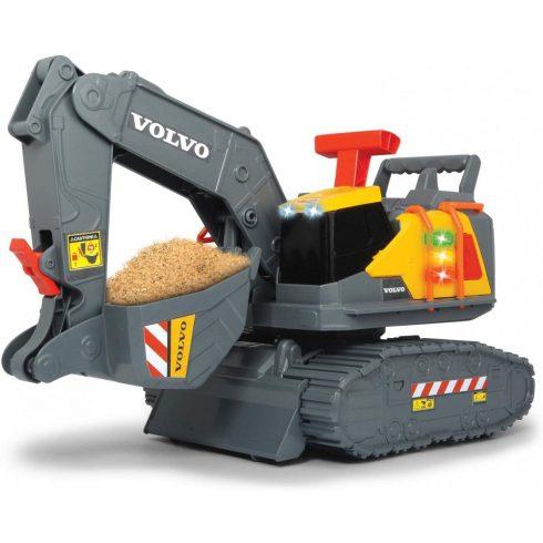 Dickie Toys Construction - Volvo lánctalpas markoló súlyérzékelővel 30cm (203725006)