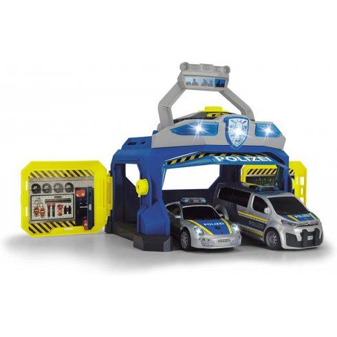 Dickie Toys SOS Series - Rendőrség járművekkel, fénnyel és hanggal (203715010038)