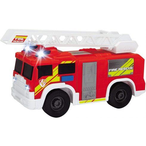 Dickie Toys Action Series - Létrás tűzoltóautó fénnyel és hanggal 30cm (203306000)