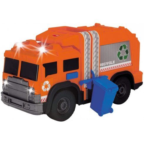 Dickie Toys Action Series - Kukásautó fénnyel és hanggal 30cm (203306001)