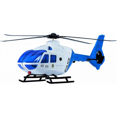 Dickie Toys SOS Series - Rendőrségi helikopter fénnyel és hanggal (203716001006)