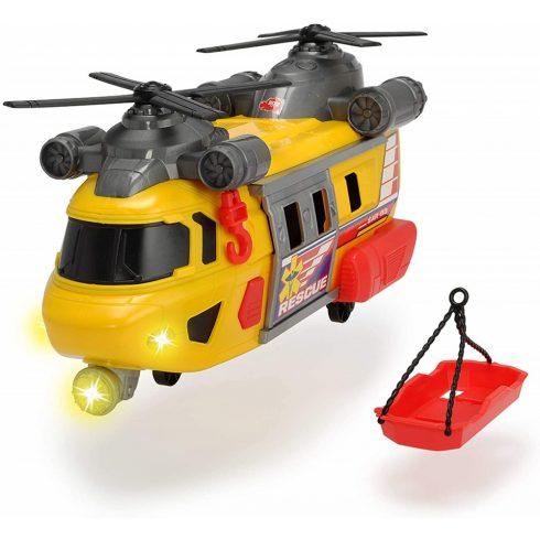 Dickie Toys Action Series - Mentőhelikopter fénnyel és hanggal 30cm (203306004)