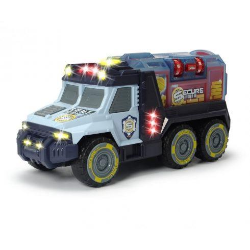 Dickie Toys Action Series - Pénzszállító páncélautó fénnyel és hanggal 35cm (203756005)