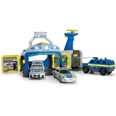 Dickie Toys SOS Series - SWAT rendőrség járművekkel, fénnyel és hanggal (203717004038)