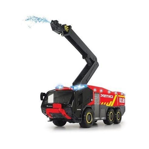 Dickie Toys SOS Series - Óriás vízspriccelő reptéri tűzoltóautó fénnyel és hanggal 55cm (203719012038)