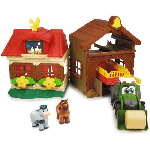 Dickie Toys Happy Series - Farm traktorral és hanggal kicsiknek (203818000)