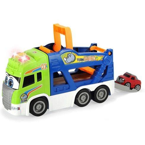 Dickie Toys Happy Series - Autószállító fénnyel és hanggal kicsiknek 40cm (203817003)