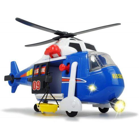 Dickie Toys Action Series - Mentőhelikopter motoros csörlővel, fénnyel és hanggal 41cm (203308356)