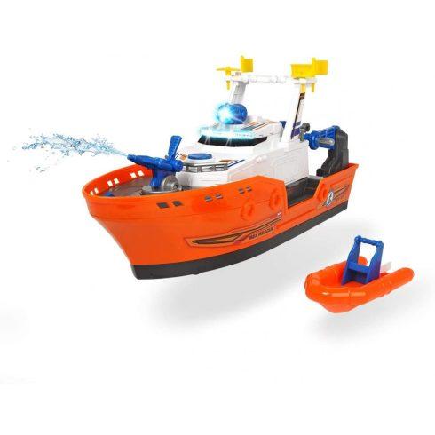 Dickie Toys Action Series - Vízspriccelő mentőhajó fénnyel és hanggal 39cm (203308375)