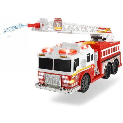 Dickie Toys Action Series - Vízspriccelő létrás tűzoltóautó fénnyel és hanggal 38cm (203308377)