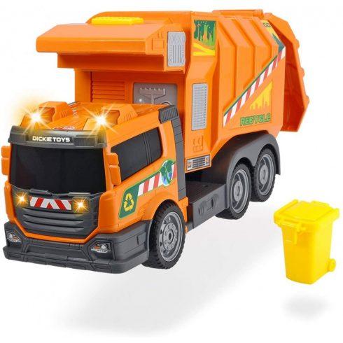 Dickie Toys Action Series - Kukásautó motoros emelővel, fénnyel és hanggal 39cm (203308383)