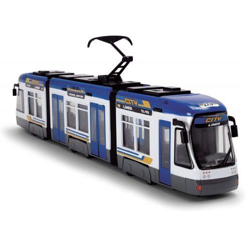 Dickie Toys City - Villamos nyitható ajtókkal 46cm - kék (203749017)