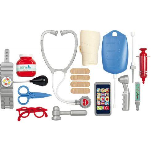 Écoiffier Medical 0251 17 részes orvosi játék készlet kofferben