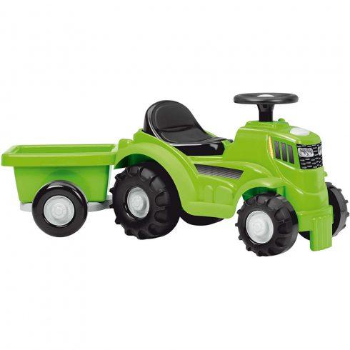 Écoiffier 0359 Játék traktor bébitaxi utánfutóval