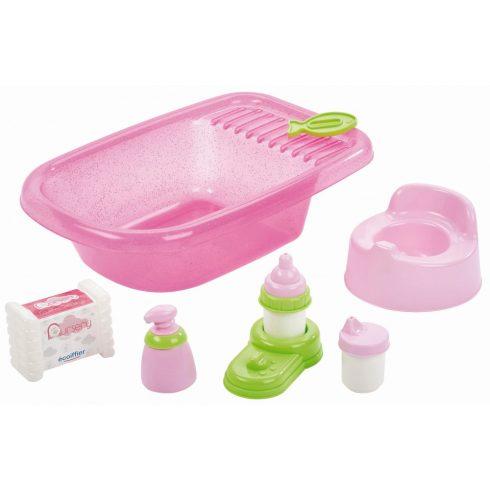 Écoiffier Nursery 0788 Babakád szett játékbabáknak