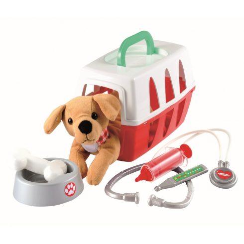 Écoiffier Medical 1907 Állatorvosi játék készlet plüss kutyával