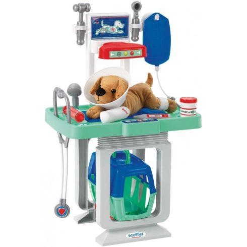 Écoiffier Medical 1908 Állatkórház plüss kutyával