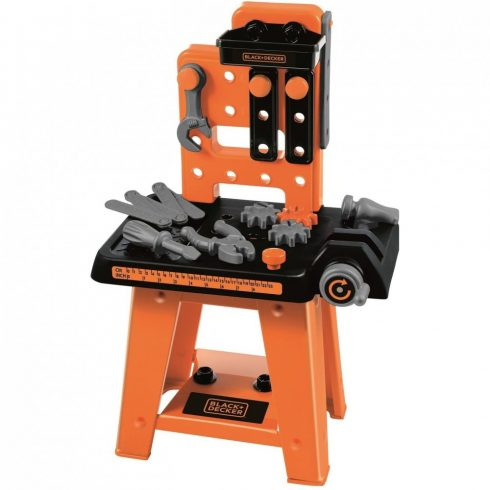 Écoiffier 2305 Black & Decker játék mini szerelőasztal 27db kiegészítővel