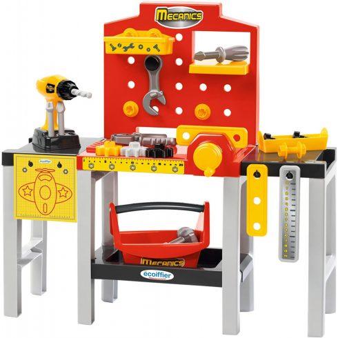 Écoiffier Mecanics 2350 Játék barkácsasztal 32 kiegészítővel