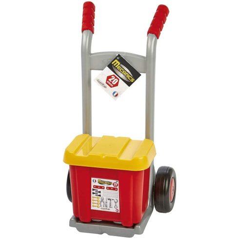 Écoiffier Mecanics 2381 Játék szerelőkocsi szerszámosládával és szerszámokkal
