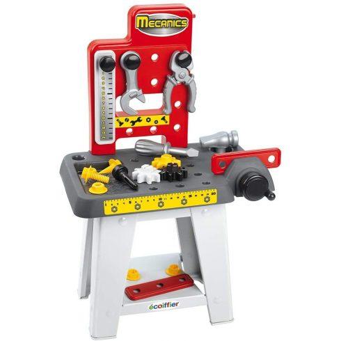Écoiffier Mecanics 2407 Játék szerelőasztal 19db kiegészítővel