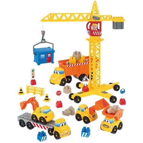 Écoiffier Abrick 3020 Építkezés daruval és munkagépekkel