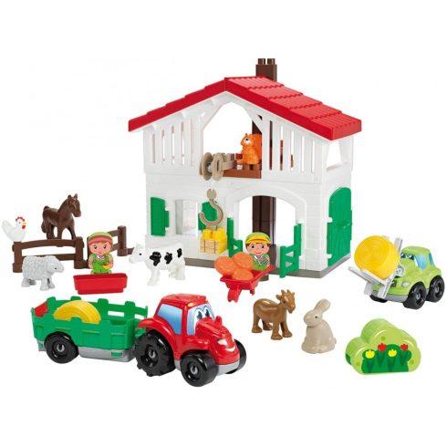 Écoiffier Abrick 3021 Farm traktorral és háziállatokkal