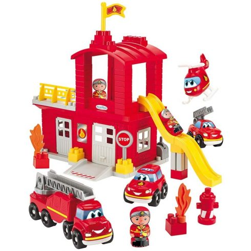 Écoiffier Abrick 3026 Tűzoltóság tűzoltóautóval