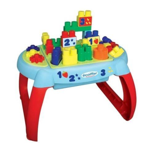 Écoiffier Abrick 7763 Készségfejlesztő építőasztal játékszett