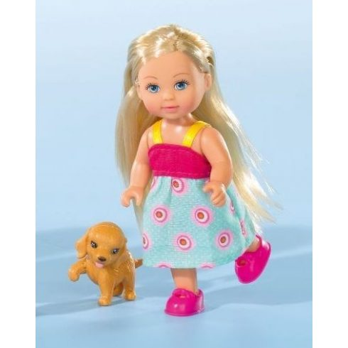 Simba Toys Evi Love - Evi baba kutyus barátjával (105730513)