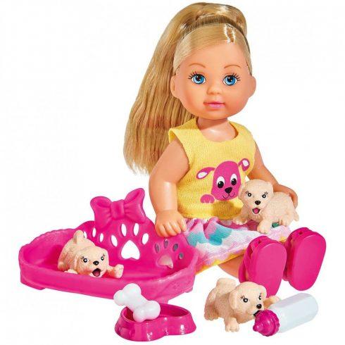 Simba Toys Evi Love - Evi baba kiskutyákkal (105733041)