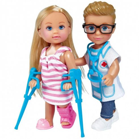 Simba Toys Evi Love - Orvosi szett Evi és Timmy babával (105733344)