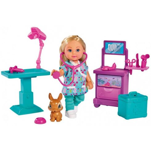 Simba Toys Evi Love - Állatorvos Evi baba nyuszival (105733486)