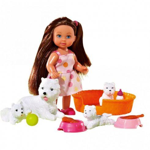 Simba Toys Evi Love - Evi baba kutyacsaláddal (105734191)