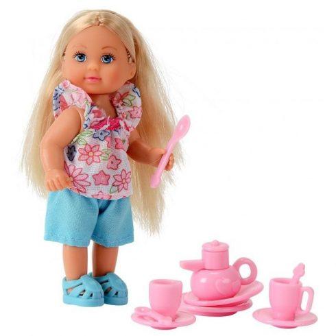 Simba Toys Evi Love - Evi baba teázó készlettel (105734830)