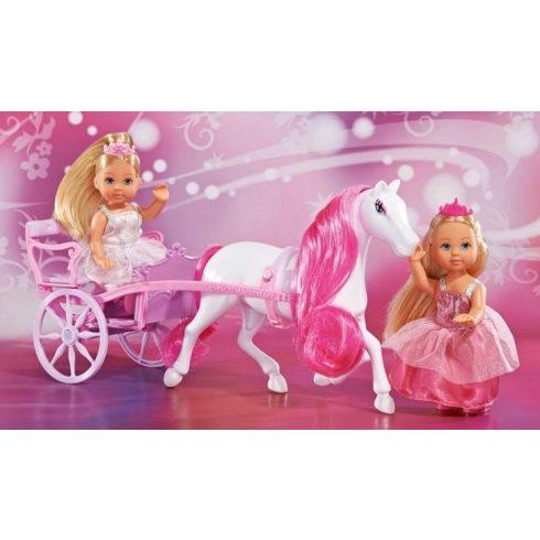Simba Toys Evi Love - Evi baba és barátnője lovas hintóval (105736646)